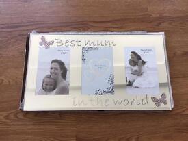 Best Mum in the world photo frame