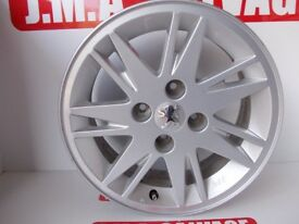 Peugeot 207 r15 ALLOY wheel Removed From 2007