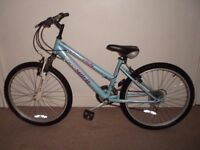 """Freespirit Trendy (14"""" frame, 24"""" tyres) Hardtail Mountain Bike (suit 9 to 12 yr) (will deliver)"""