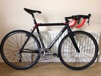 Road / Cross bike with 105 10 speed compact groupset, aksium wheels and good finishing kit.