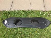Toy plastic snowboard / stand up toboggan