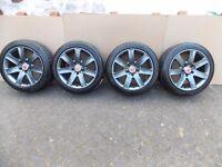 "Vivaro / Trafic / Primastar / VW T5 / 17"" Alloy Wheels & Tires / Fully Refurbed / Like New."
