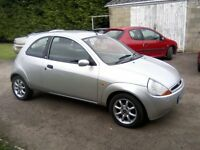 FORD KA 1-3 ZETEC CLIMATE 2007. 102k MILES WITH FULL SERVICE HISTORY. 1 PREVIOUS OWNER 12 MONTHS MOT