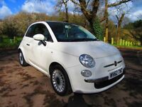 Fiat 500 1.2 lounge Low mileage