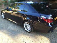 BMW 5-Series 535d M-Sport Automatic, Diesel – Wide Sat-Nav (Professional), Brown Leather