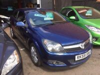 VAUXHALL ASTRA 1.6 DESIGN 3DR COUPE 2009 59 PLATE ONLY 75,000 MILES