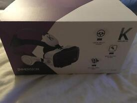 Vr virtual reality headset unwanted present