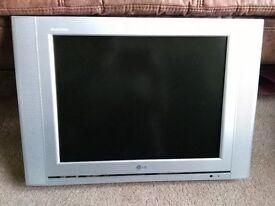 "LG FLATRON 20"" LCD TELEVISION"