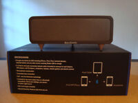 Bass Sonic Brown Speakers Bluetooth v3.0 BT-SP103