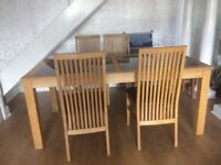 For sale table 4 chairs