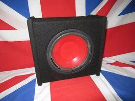"10"" Bass Box Subwoofer Wooden Sound box, Box only"