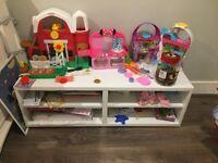 Ikea besta TV bench/shelves