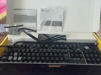 Corsair K70 RGB (CH-9000119-UK) LED Cherry MX Brown Mechanical Gaming Keyboard