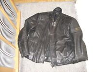 motorbike bobo leather jacket