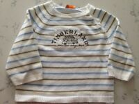 Timberland jumper 9 months - great condition