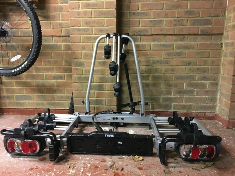 Thule EuroClassic Pro 903 – 3/4 Bike Carrier. Tow Ball Mounted – Used, used for sale  Winchester, Hampshire