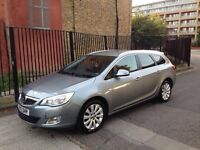 2012 12 VAUXHALL ASTRA 1.6 SE SILVER ESTATE LIGHT DAMAGED SALVAGE REPAIRABLE