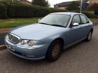 Rover 75 2.0 CDT Connoisseur, MOT June 2017, Tan Leather, Electric Seats, Runs/Drives superb!