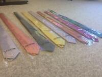 TM Lewin Silk Ties- Brand New with Plastic Sleeve and Tags