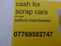 scrap cars wanted best cash price paid manchester salford for scrapping