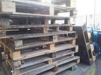 Free pallets to take away
