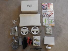 **For Sale - Excellent Condition Nintendo Wii Console and Accessories and Games***