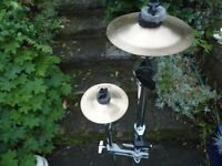 Pastie Cup Chimes/Cymbals, Cymbal stands & Case