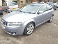 AUDI A3 TDI SPORT 2004 WITH FULL SERVICE HISTORY from Audi Dealer Warranted Mileage.