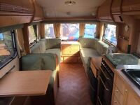 1999 swift corniche tourer caravan 3 berth