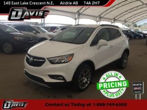 2017 Buick Encore Sport Touring REAR VISION CAMERA, BLUETOOTH...
