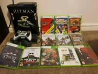 Xbox 360 and 12 games