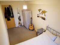 Spacious double room in friendly first floor flat