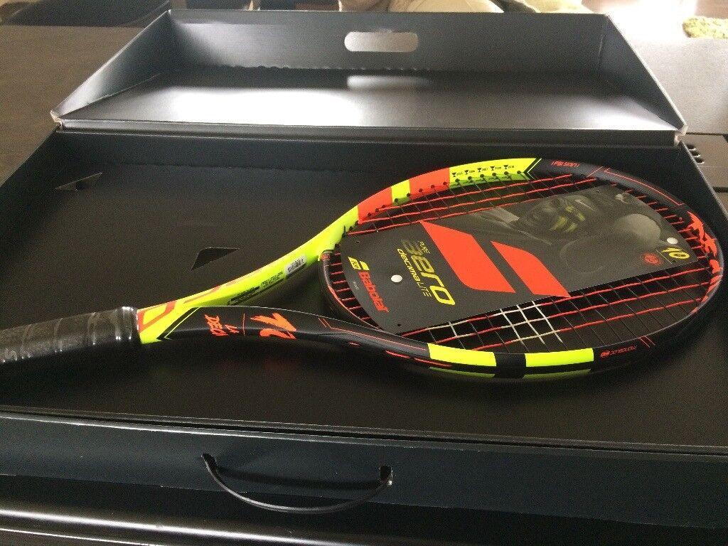 Babolat Pure Aero Decima Lite Limited Edition Adult Tennis Racket ... 97f6d08f377e1