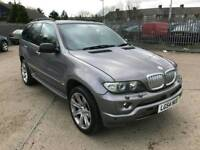 2005 54 bmw x5 3.0d msport low miles fully colour coded