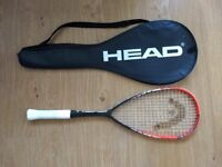 HEAD Innegra Laser squash racket with case - barely used