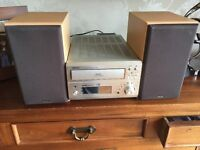 Denon , Auto cd player , 3 cd auto changer.2 speakers