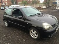 Renault Clio extreme car 1.2 petrol 2 owner black new cam belt drives mint 3 door £599