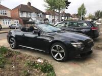 BMW 6 series 635d Auto sat nav leather seat service history