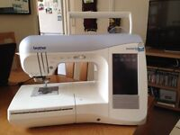 Brother Innovis 1500 Sewing Embroidery Machine - Used a couple of times - RRP £2200