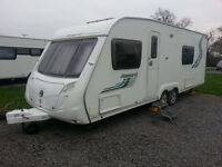 2009 Swift Accord 62. Twin Axle. Fixed bed. End bathroom