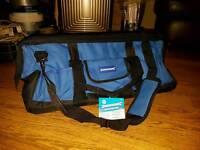 Silverline tool bag hard base