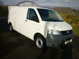 2007 (Dec) VW Transporter LWB 1.9 TDI Camper / surf / day van