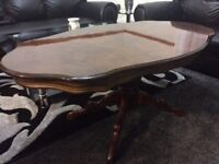 COFFEE TABLE MAHAGONY IN EXCELLENT CONDITION