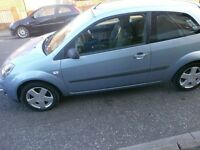 ford fiesta1.4 zetec 3 door match face lift model 06reg