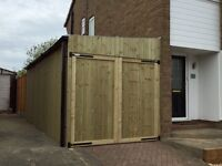 Fencing and Outbuilding Service.