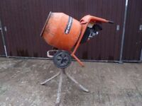 Belle Minimix 150 Cement Mixer and Stand with Honda Petrol Engine