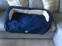 New Scruffs large dog sofa cushion blue