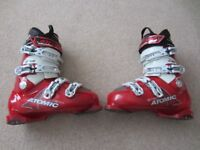 Atomic B90 Mens Ski Boots size 26.5/27 = 7 1/2 or 8