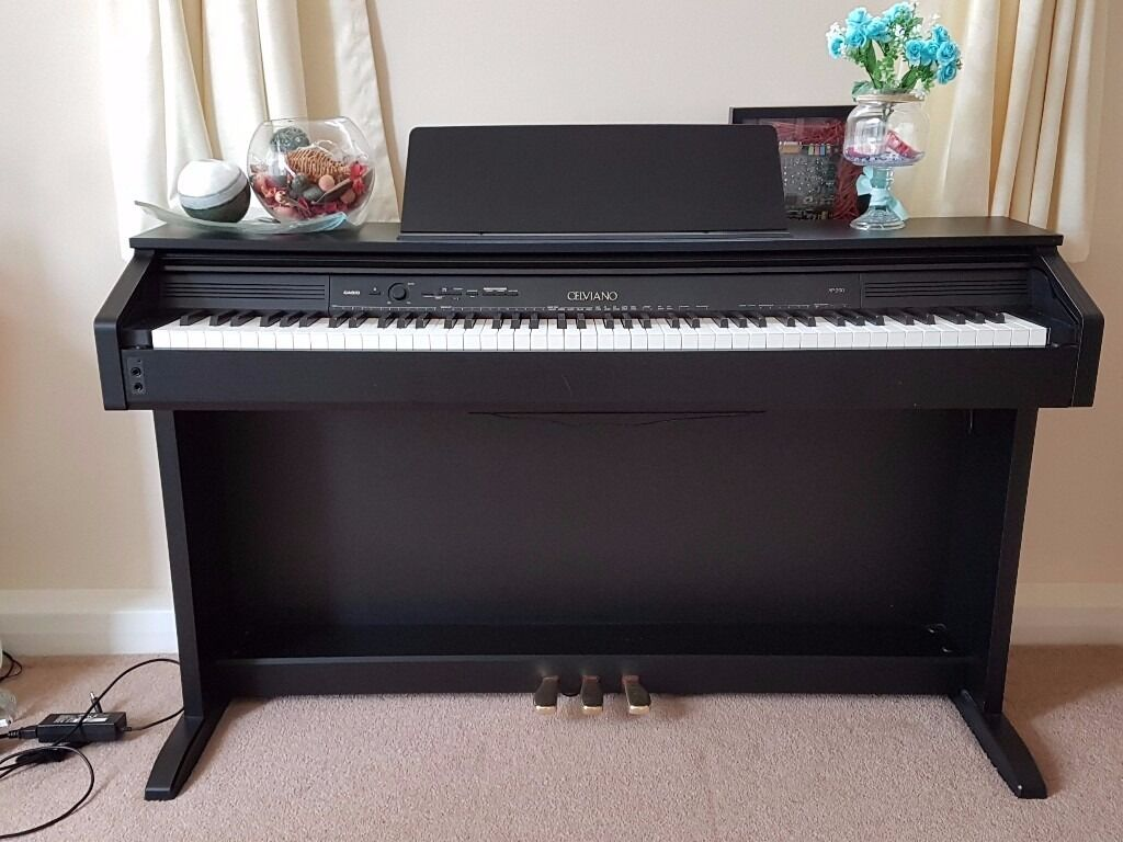casio celviano ap 260 digital piano black in york north yorkshire gumtree. Black Bedroom Furniture Sets. Home Design Ideas