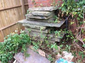 York stone paving approx 4sqm